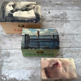 houten foto doosjes